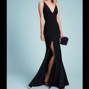 NWT Size S Dress The Population Iris Black Gown